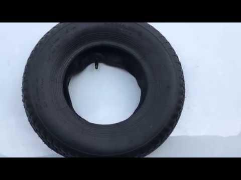 Резина для надувных колёс строительной тачки размер 4.80/4.00-8