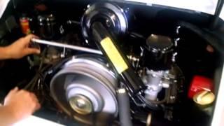 First engine start Porsche 911 1965 on Solex after full res