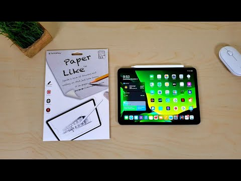 The iPad Pro 11 Paper-Like Screen You'll Want to TRY!!!