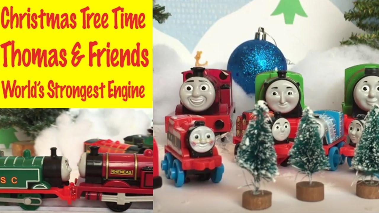 Thomas The Train Christmas Tree.Thomas And Friends Sir Topham Hatt S Christmas Tree World S Strongest Team