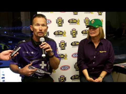 Jack Beckman and Jungle Pam NHRA #1 Funny Car Qualifier