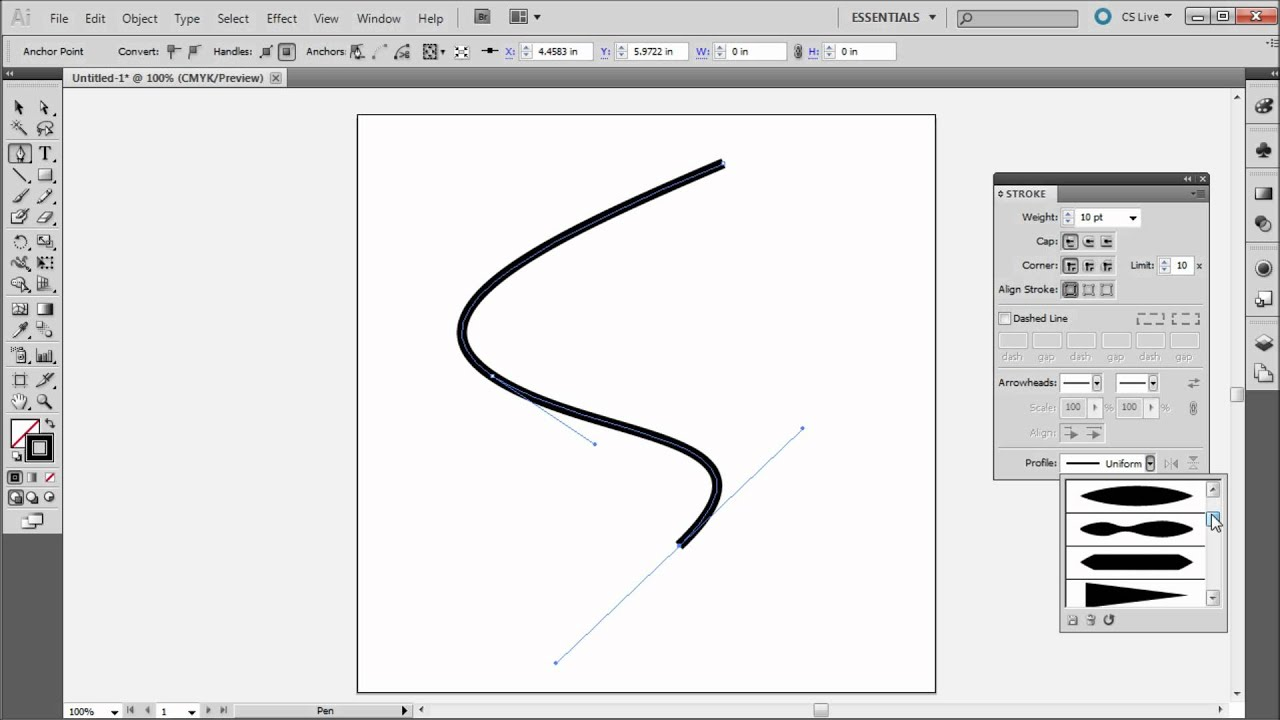 how to draw dotted line in photoshop