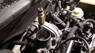 Троит двигатель на  SKODA Fabia. Раскоксовка двигателя. Комплекс BG.