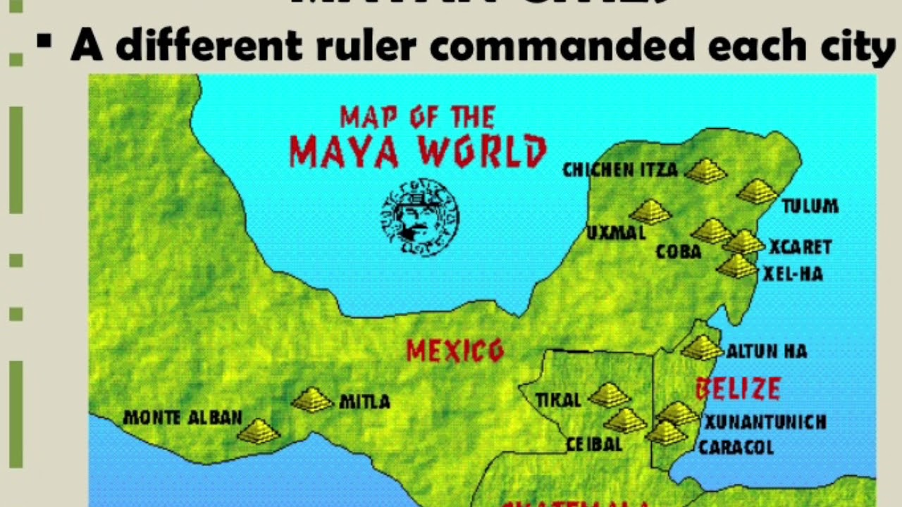 Timeline Of The Mayan Civilization