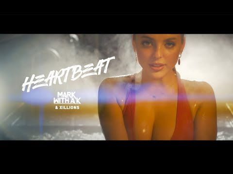 Смотреть клип Mark With A K & Xillions - Heartbeat