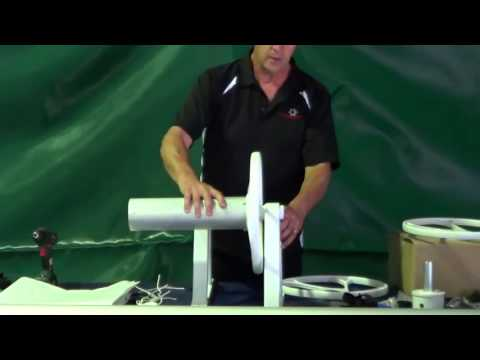 Australis Pool Covers Pool Cover Roller Assembly Youtube