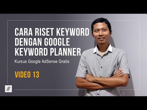 Cara Jitu Riset Keyword Dengan Google Keyword Planner.