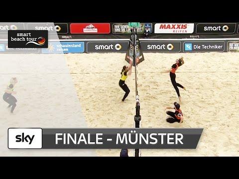 Das Frauen-Finale in voller Länge | Münster - smart beach tour 2017