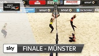 Das Frauen-Finale in voller Länge | Münster - smart beach tour 2017