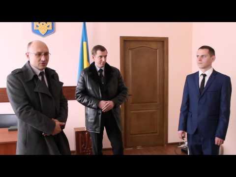 У Барському районі офіційно представили нового прокурора