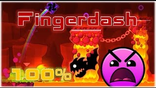 Fingerdash прохождение 100% (2 монетки) | Geometry Dash 2.1