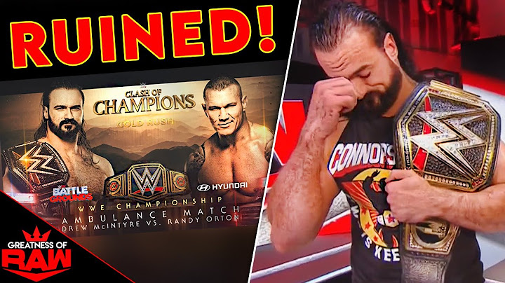 wwe just ruined drew mcintyre vs randy orton  wwe raw 91420 results  review