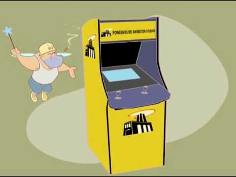 Powerhouse Animation Kiosk