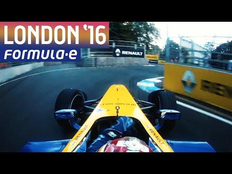 Onboards Compilation - London Hot Laps - Formula E