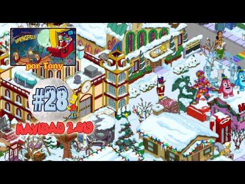 """Los Simpson Springfield """"Navidad'19: Capítulo 28 - La Estatua Arcoíris De Abe"""" Por Tony"""
