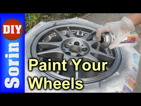 How To Paint Your Wheels / Rims - Tutorial
