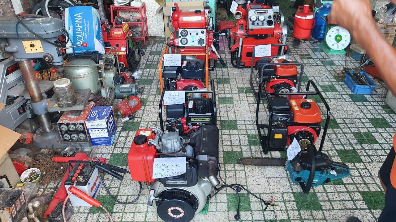 Động cơ dầu Yanmar , bơm nước ,chữa cháy nội địa Nhật   LH 0914711438   Ngày 6/7/2020