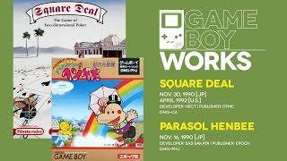 Square Deal & Parasol Henbee retrospective: Happy birthday? | Game Boy Works #113