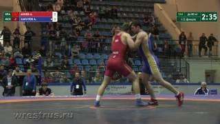80 кг. Адлан Акиев - Азамат Хакулов. 1/2 финала.