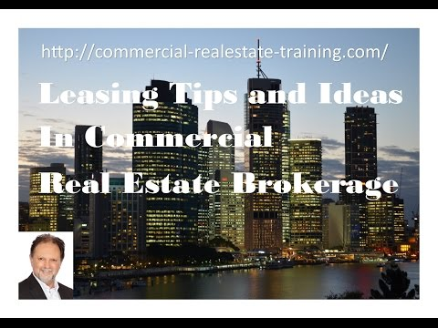 Commercial Real Estate Agent Leasing Training online