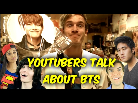 Famous Youtubers Talking About BTS Compilation