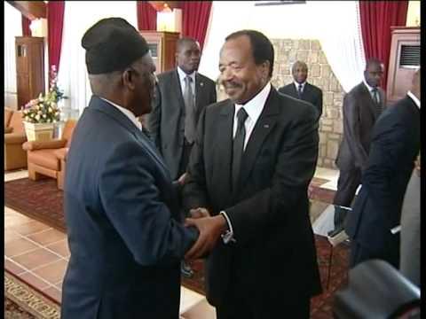 Image result for images of President Paul Biya in Bamenda