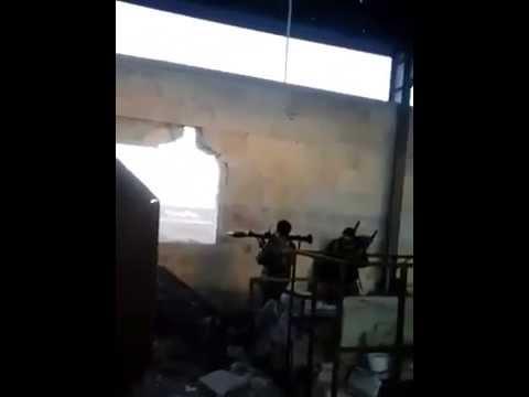 Syria Al Zahra province of Aleppo destruction of armored vehicles en Nusra Front