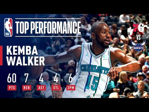 Kemba Walker Drops A Career High 60 In Match Up 76ers | November 17, 2018 thumbnail