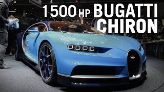 The Amazing 1500hp Bugatti Chiron At Geneva 2016
