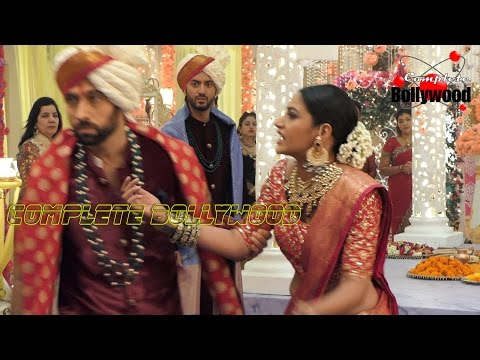 On Location Of TV Serial 'Ishqbaaz' SHIVAAY throws Anika OUT