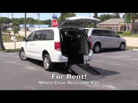 Rent a Wheel Chair Accessible Mini Van Tampa Bay Florida