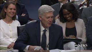 Neil Gorsuch uses 'bigly' at confirmation hearing | ABC News