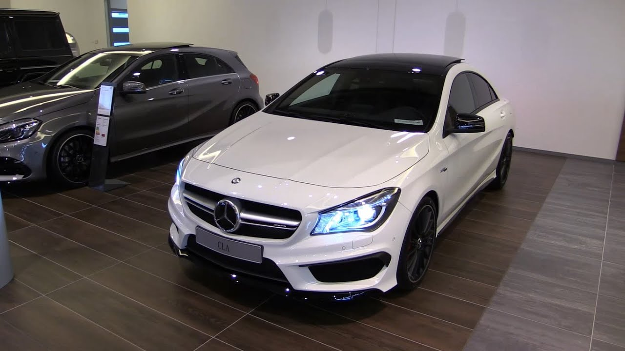 Mercedes Benz CLA45 AMG 2016 Start Up, Exhaust, In Depth Review Interior  Exterior   YouTube