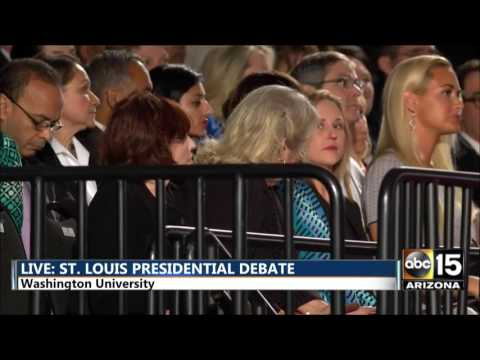 FULL: Second Presidential Debate - Hillary Clinton Donald Trump - St. Louis Town Hall