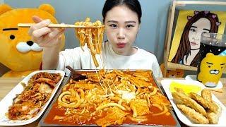 누들떡볶이 먹방 Mukbang