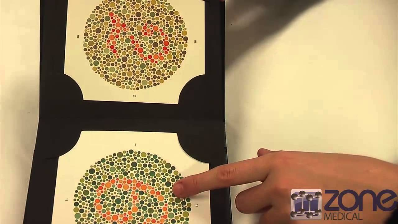 Ishihara\'s Colour Deficiency Test - YouTube