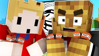 THE BEST TRAPS IN MINECRAFT SECURITY MODDED CHALLENGE w/ TEWTIY | Minecraft Mod Minigame