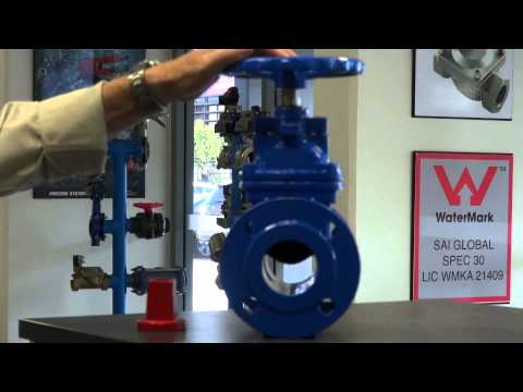 Resilient Seated Gate Valve - Non Rising Stem