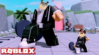 It's our job to get stronger! We've Played Bodybuilding - Roblox Weight Lifting Simulator 4 with Panda