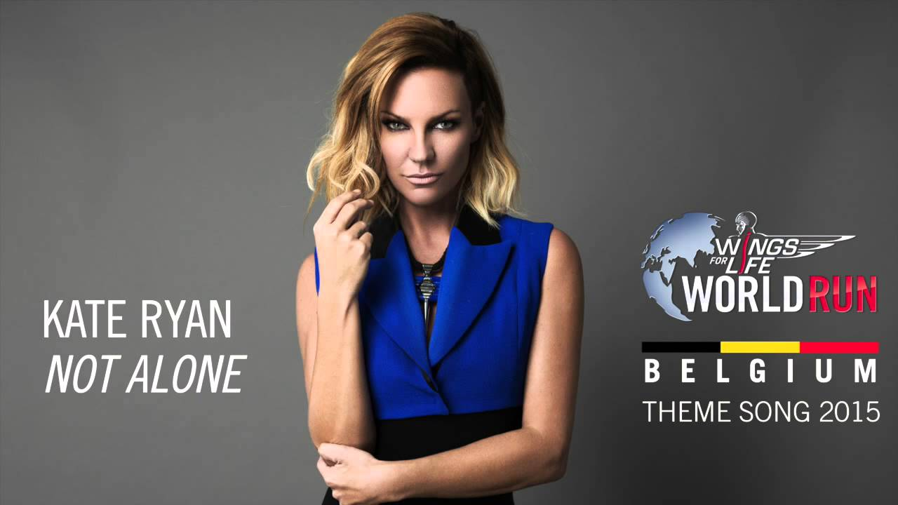 Kate Ryan Not Alone Wings For Life World Run 2015