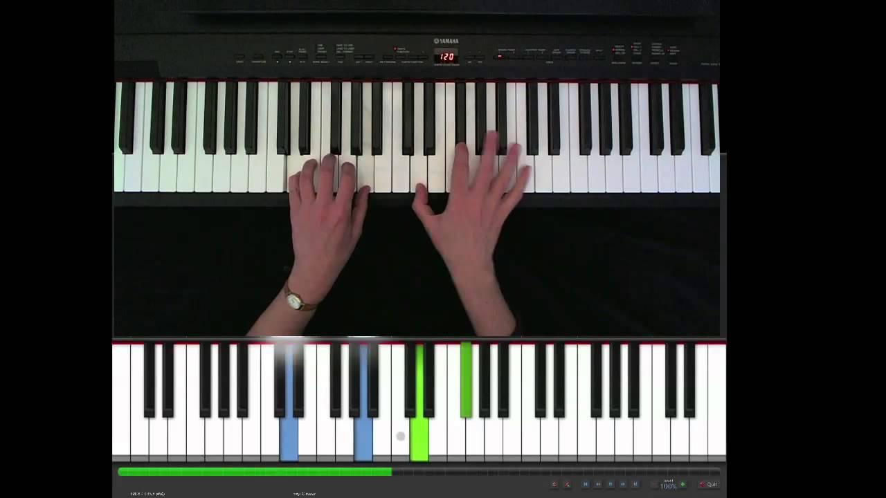 Let her go, Passenger, piano easy