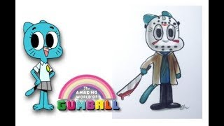 Gumball Characters as Horror movie Villains