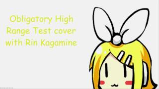 Kagamine Rin V4x POWER- High Range Test
