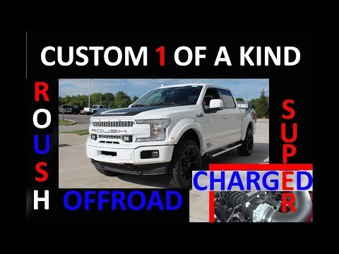 2018 2019 Roush Ford F-150 Offroad Custom Supercharged Truck
