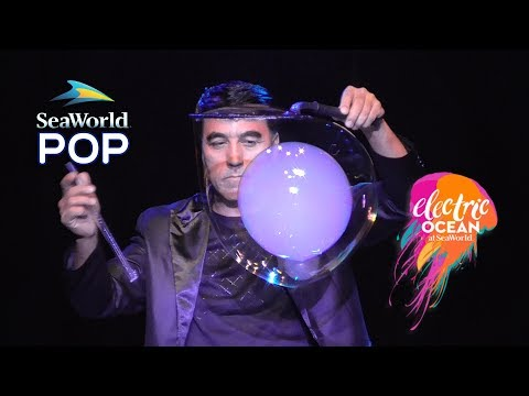 POP Full Show at SeaWorld Orlando - Bubble Show - Electric Ocean