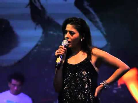 Sunidhi Chauhan Live Concert In Infosys Mysore - Part 1