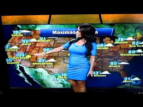 Jackie Guerrido - Los Angeles Spanish News Chicks Hot Weather Woman