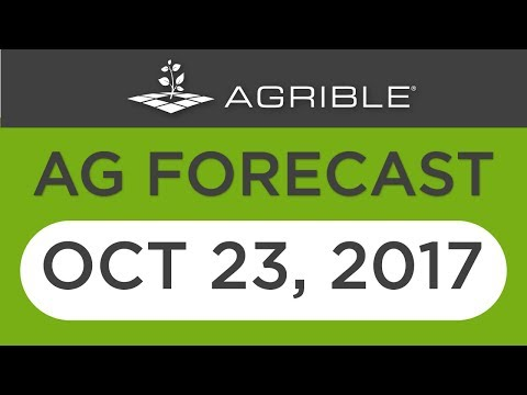 Morning Farm Report Ag Forecast - Oct 23, 2017