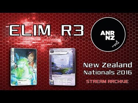New Zealand Netrunner Nationals 2016 - ELIM R3