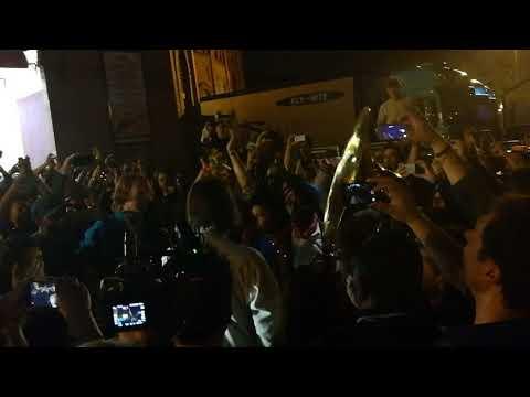 Arcade Fire post concert - Lisboa, Portugal, 23/04/2018